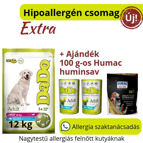 Hipoallergén Extra csomag L